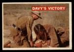 1956 Topps Davy Crockett #48 ORG Davy's Victory   Front Thumbnail