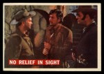 1956 Topps Davy Crockett #57 ORG No Relief in Sight   -     Front Thumbnail