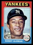 1975 Topps #266   Sandy Alomar Front Thumbnail