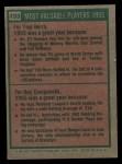 1975 Topps #193  1955 MVPs  -  Yogi Berra / Roy Campanella Back Thumbnail