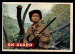1956 Topps Davy Crockett #26 ORG On Guard   Front Thumbnail