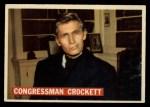 1956 Topps Davy Crockett #43 ORG Congressman Crockett   Front Thumbnail