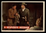 1956 Topps Davy Crockett #52 ORG Desperate Decision   Front Thumbnail