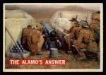 1956 Topps Davy Crockett #54 ORG The Alamo's Answer   Front Thumbnail