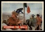 1956 Topps Davy Crockett #67 ORG Storming The Walls   -     Front Thumbnail