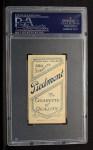 1909 T206 #50   Ted Breitenstein Back Thumbnail