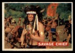 1956 Topps Davy Crockett #21 ORG Savage Chief   Front Thumbnail