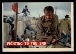 1956 Topps Davy Crockett #73 ORG Fighting To The End   Front Thumbnail