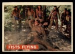 1956 Topps Davy Crockett #31 ORG Fists Flying   Front Thumbnail