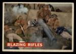 1956 Topps Davy Crockett #77 ORG  Blazing Rifles  Front Thumbnail