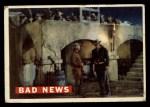 1956 Topps Davy Crockett #59 ORG Bad News   Front Thumbnail