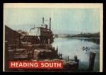 1956 Topps Davy Crockett #44 GRN  Heading South  Front Thumbnail