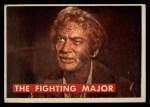 1956 Topps Davy Crockett #52 GRN The Fighting Major   Front Thumbnail