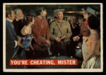 1956 Topps Davy Crockett #44 ORG You're Cheating  Front Thumbnail