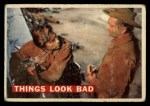 1956 Topps Davy Crockett #55 ORG  Things Look Bad  Front Thumbnail