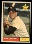 1961 Topps #529   Bob Roselli Front Thumbnail