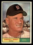 1961 Topps #257  Carroll Hardy  Front Thumbnail
