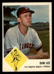 1963 Fleer #18   Don Lee Front Thumbnail