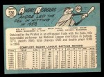 1965 Topps #536   Andre Rodgers Back Thumbnail