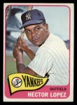 1965 Topps #532  Hector Lopez  Front Thumbnail