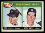 1965 Topps #509  Red Sox Rookies  -  Bob Guindon / Gerry Vezendy Front Thumbnail