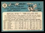 1965 Topps #480   Joel Horlen Back Thumbnail