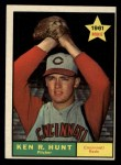 1961 Topps #556   Ken R. Hunt Front Thumbnail