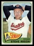 1965 Topps #211   Steve Ridzik Front Thumbnail