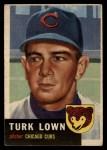 1953 Topps #130   Turk Lown Front Thumbnail