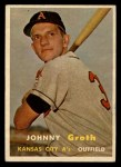 1957 Topps #360   Johnny Groth Front Thumbnail