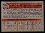 1957 Topps #353   Cal Neeman Back Thumbnail