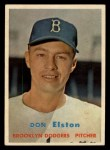 1957 Topps #376   Don Elston Front Thumbnail