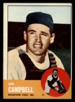 1963 Topps #373  Jim Campbell  Front Thumbnail