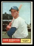 1961 Topps #23   Don Demeter Front Thumbnail