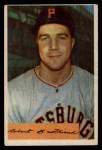 1954 Bowman #43 A  Bob Friend Front Thumbnail