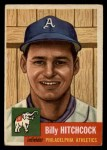 1953 Topps #17  Billy Hitchcock  Front Thumbnail