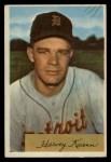 1954 Bowman #23   Harvey Kuenn Front Thumbnail