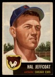 1953 Topps #29   Hal Jeffcoat Front Thumbnail