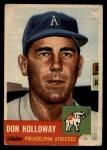 1953 Topps #97  Don Kolloway  Front Thumbnail