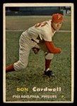 1957 Topps #374   Don Cardwell Front Thumbnail