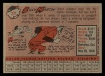 1958 Topps #271  Billy Martin  Back Thumbnail