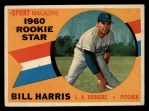1960 Topps #128  Rookies  -  Bill Harris Front Thumbnail