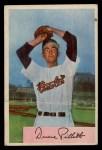 1954 Bowman #133  Duane Pillette  Front Thumbnail