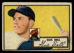 1952 Topps #170   Gus Bell Front Thumbnail
