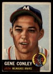 1953 Topps #215  Gene Conley  Front Thumbnail