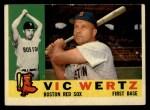 1960 Topps #111   Vic Wertz Front Thumbnail