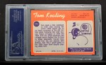 1970 Topps #171   Tom Keating Back Thumbnail