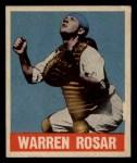 1949 Leaf #128   Warren  Buddy  Rosar Front Thumbnail
