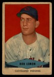 1954 Red Heart #16  Bob Lemon  Front Thumbnail