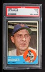 1963 Topps #245   Gil Hodges Front Thumbnail